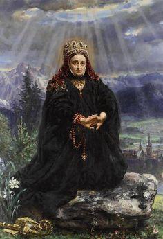 Kinga węgierska - Jan Matejko – Wikipedia, wolna encyklopedia