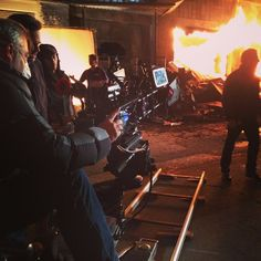 Castlegrip: Last nights episode had us keeping warm next to the fire.