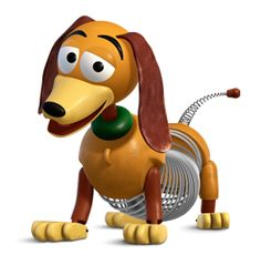 Sheriff Woody Pride (a. usually addressed as Woody) is the main protagonist. Slinky Toy, Toy Story Slinky, Toy Story Series, Toy Story Movie, Toy Story Baby, Jessie Toy Story, Cumple Toy Story, Festa Toy Story, Walt Disney