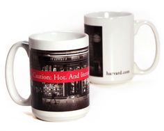"""""""Caution: Hot. And Literate."""" Mug 