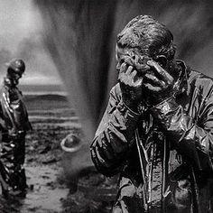 Oil wells firefighter. Greater Burhan, Kuwait, 1991. #sebastiaosalgado