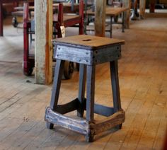 In Appreciation of Vintage Industrial Stools and Their Early Ergonomics - Core77