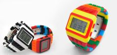 $15 for a LEGO Inspired Digital Watch - Choose from 15 Unique Colours and Styles! ($79 Value)