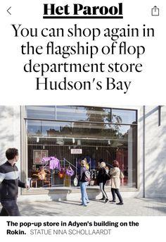 Hudson Bay, Department Store, Amsterdam, News, Shopping