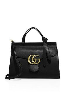Gucci GG Marmont Leather Top-Handle Bag AED 9087.69
