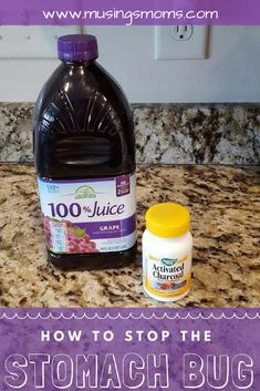 Home remedies for stopping the stomach bug when it hits your house using activated charcoal and Grape Juice. Plus immune boosting essential oils Holistic Remedies, Natural Health Remedies, Homeopathic Remedies, Essential Oil For Stomach Bug, Essential Oils, Kids Stomach Bug, Stomach Flu Remedies, Sinus Problems, Childhood Obesity