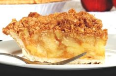Dutch apple pie w/crumble topping - easy to make dairy free (dairy free butter and use a non-dairy pie crust)