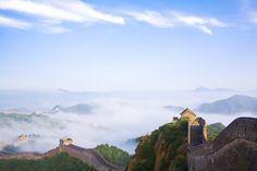 Eazywallz  - Great wall at dawn, China Wall Mural, $129.00 (http://www.eazywallz.com/great-wall-at-dawn-china-wall-mural/)