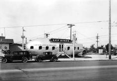 The Zep Diner, Florence Avenue near Figueroa Street, 1931. Los Angeles