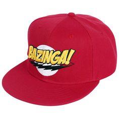 The Big Bang Theory - BAZINGA! Logo  - ajustable - brodée