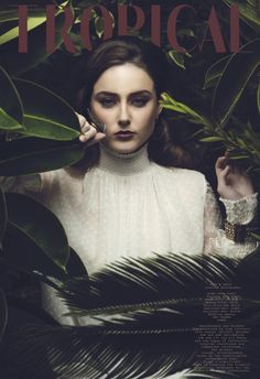 TROPICAL ALEX & DAVID creative photography #fashion #editorial #beuty