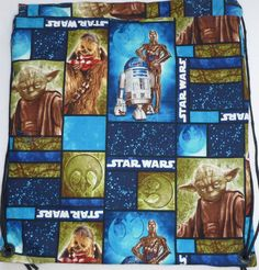 This item should complete you geek apparel!  This fabric has a larger scale print that works well on this backpack.  The fabric is…