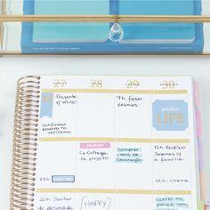 Cada um tem seu estilo de planejar, qual é o seu? www.paperview.com.br #meudailyplanner #dailyplanner #plannerdecor #planejamento