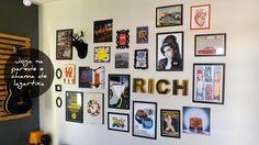 Meu mundo e tudo mais...: Posters e quadros nas paredes