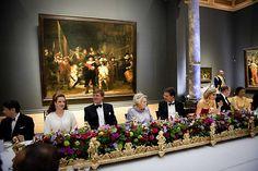 Afscheidsdiner Koning Beatrix in het Rijksmuseum, 29 april 2013
