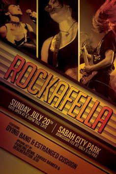 Modern Rock Concert Flyer  Concert Flyer And Rock Concert