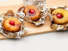 Campfire Pineapple Upside Down Cake These are seriously…