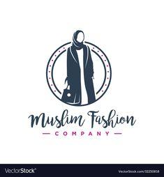 Clothing Logo Design, Clothing Brand Logos, Fashion Logo Design, Hijab Logo, Oman Women, Dress Logo, H Logos, Logo Concept, Shop Logo