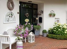 Nordic shabby chic in germania a casa di mary deco pinterest