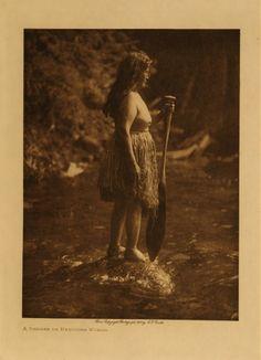A Shaman Or Medicine Woman