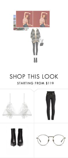 """""""— HANGING OUT WITH THE GIRLS"""" by ohsoyoung ❤ liked on Polyvore featuring For Love & Lemons, Vetements, Balenciaga, Linda Farrow and Chanel"""