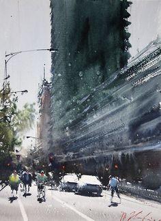 Друзья, сегодня вашемувниманиюпредлагаем работы одного из ведущих мастеров акварели — художника Joseph Zbukvic , уроженца Югославии (ныне Хорватии). С детства…