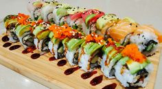 Celebrate your birthday with FREE sushi! #itsonUS #CelebrateMORE! Go to HULEDET.com to claim your free savory meal!