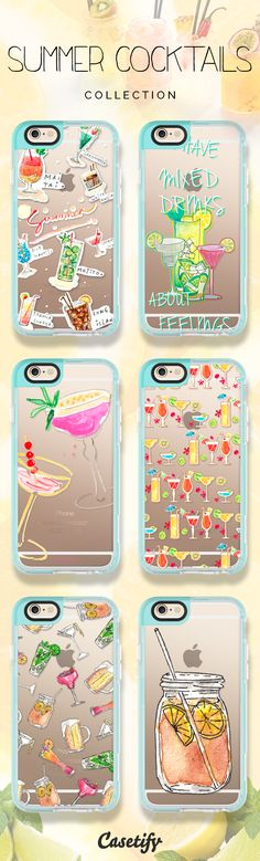 Are you guys ready for the  #summer? Tap this link to shop the featured summer cocktail cases: https://www.casetify.com/artworks/J9jOKhYHlR | @casetify