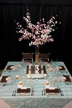 pink brown wedding reception | We need your vote! | Pink with Envy Event Planning Services
