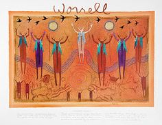 Kindered Spirits  Bill Worrell  I love his work and own one. I have this on my dining room Wall!!