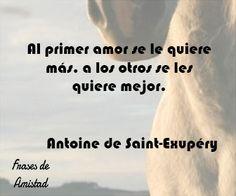 Frases de amor de escritores de Antoine de Saint-Exupéry