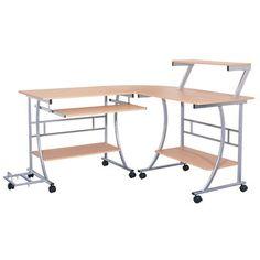 Dainolite L-Shaped Computer Desk