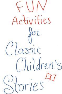 Fun activities for classic children's stories by Paul Galdone. Great resource for preschool or kindergarten teachers or homeschoolers.