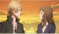 Haruki -kun and Miou - chan