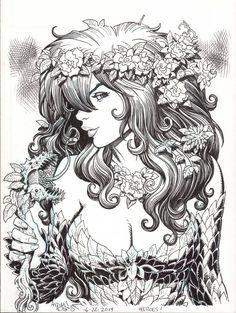 Poison Ivy by Arthur Adams *