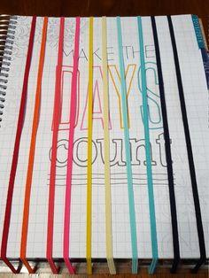Three Rainbow Super Skinny Planner Bands for Erin Condren, Plum Paper, etc. by DiddleDumplingShop on Etsy
