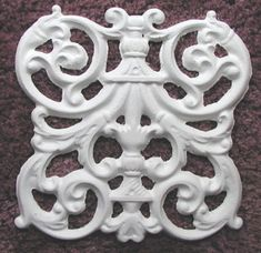 Beautiful Raised Plaster Stencils, Painting Stencils and Decorative Plaster Molds for DIY Decorating. Let us show you how to make your home elegant and inviting Plaster Art, Plaster Molds, Elegant Home Decor, Elegant Homes, Wrought Iron Fences, Mould Design, Stencil Painting, Furniture Restoration, Diy Clay