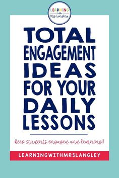 Here are a few of my favorite ways to ensure my kindergarten students can handle our whole group lesson times and stayed engaged the whole time. Primary Classroom, Classroom Ideas, Classroom Organization, Classroom Management, What Is A Noun, Turn And Talk, Engagement Tips, Kindergarten Activities, Preschool