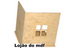 Canto de janela mdf - cod:AMB001- Tamanho 20x20x20cm - BR$14,00
