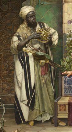 Men of Color In Fantasy Art — From Painting by Sasha Beliaev African History, African Art, Arabian Art, Art Station, Historical Art, Afro Art, Renaissance Art, Islamic Art, Black Art