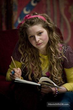 "Lavender Brown (Jessie Cave) in Harry Potter and the Half-Blood Prince. ""Won Won"""