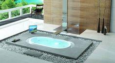 Baños con hidromasajes y vistas