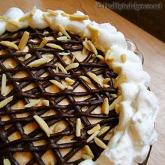 Healthier Peanut Butter Pie (Sugar-Free, Low Carb) by HealthyIndulgencesBlog,