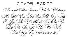 citadel font - Google Search
