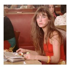 Discussing Jane Birkin's hair in the office today, did she ever have a bad hair day? #colourelements #ce #colour #color #janebirkin