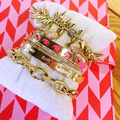 The ultimate Holiday arm party | Stella & Dot. Order here: www.stelladot.com/sites/laurengrady
