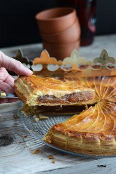Je n'avais encore jamais proposé de galette des rois aux pommes. Il faut dire que je lui préfère nettement la galette à la frangipane. Le...