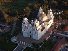 Basílica de Esquipulas famous for the black Ch