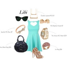 Libi styled for a FAB lunch date <3