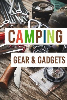 101 Camping Ideas including the BEST camping gear & gadgets #camping